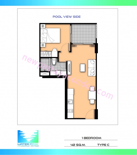 Water park condo unit plans for 4 unit condo plans