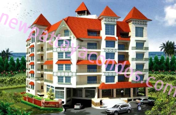 Katalina Residence II - Pattaya - Thailand (Maps, Location, Address, Price, Photo) - website