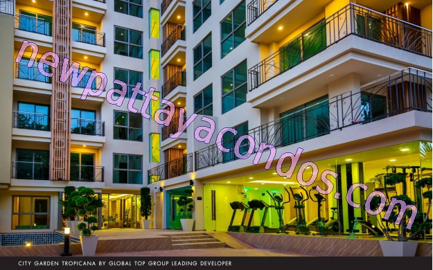 City Garden Tropicana Wongamat - Pattaya - Thailand (Maps, Location, Address, Price, Photo) - website
